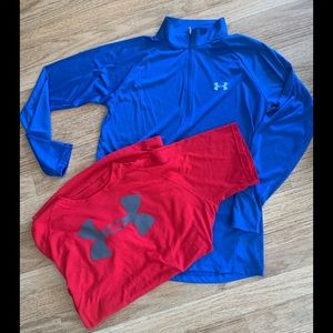Under Armour Sz Med Bundle of 2 One Ship Charge!!